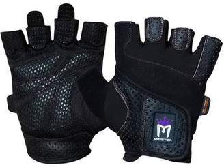 Meister Women's Fit Weight Lifting Gloves (Pair) - Black - X-Small