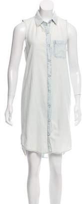 Rag & Bone Sleeveless Chambray Dress