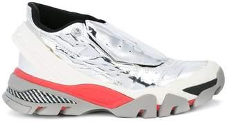 Calvin Klein mirrored runner sneakers