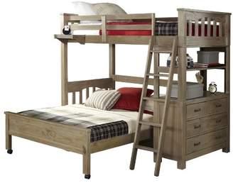 Hillsdale Furniture Highlands Loft and Lower Bed