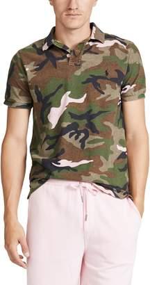 Polo Ralph Lauren Short Sleeve Mesh Camo Polo Shirt
