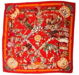 Hermes Les Danses Des Indiens Shawl