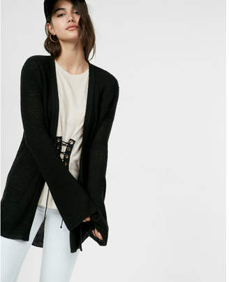 Express thermal bell sleeve cover-up $49.90 thestylecure.com