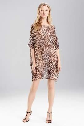 Josie Natori Shadow Leopard Top