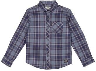Ben Sherman Boys' Blue Checked Shirt