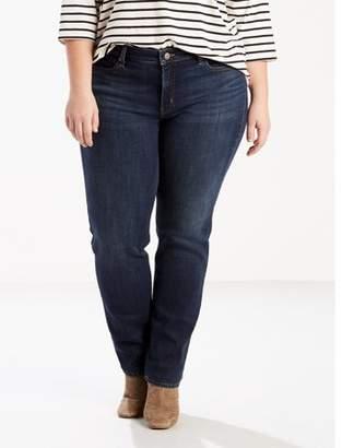 Levi's Women's Plus 414 Classic Straight Jeans