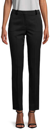 The Kooples Stretch Smoking Wool Trousers