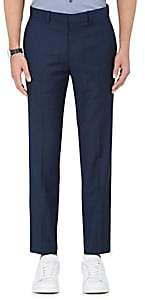 Theory Men's Mario Wool Trousers - Navy