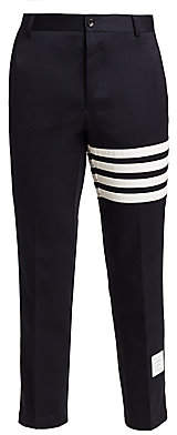 Thom Browne Men's Deconstructed Chino Trousers