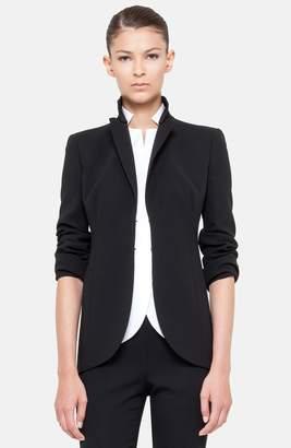 Akris 'Pentagon' Double Face Wool Jacket