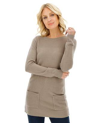 Fashion World Super Soft Tunic Jumper with Pockets