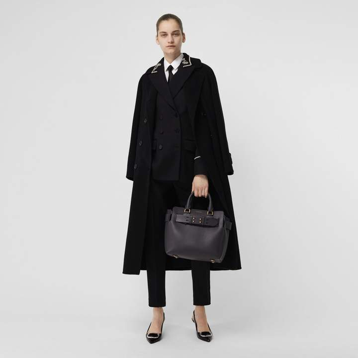 Double-faced Cashmere Tailored Coat