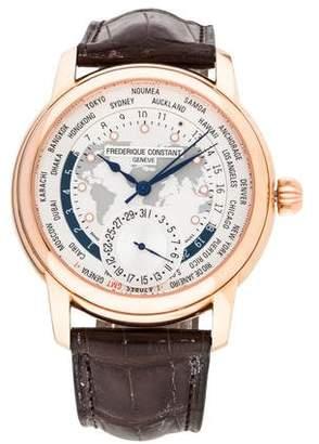 Frederique Constant Manufacture Worldtimer Watch