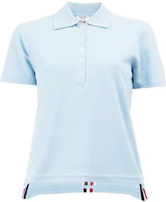 Thom Browne signature stripe polo shirt
