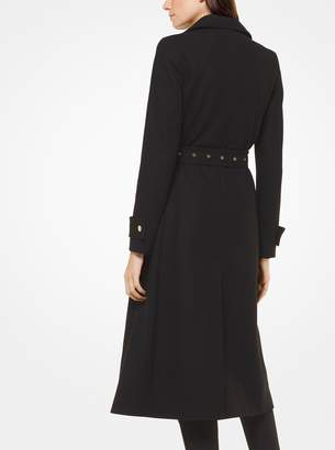 MICHAEL Michael Kors Wool-Melton Trench Coat