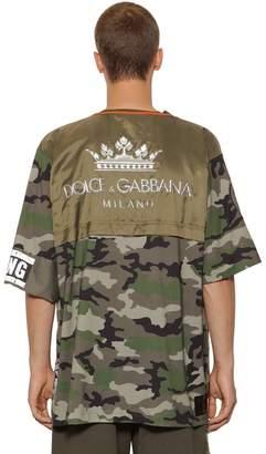 Dolce & Gabbana Camouflage Logo T-Shirt