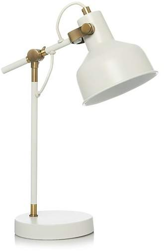 George Home Cream Desk Lamp