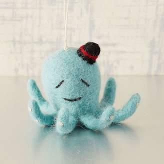 west elm Felt Octopus Ornament