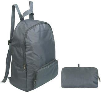 HOME BASICS Home Basics Travel Foldable Backpack