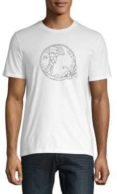 Versace Logo Cotton Jersey Tee