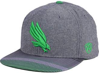 Top of the World North Texas Mean Green Tarnesh Snapback Cap