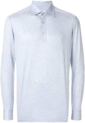 Kiton longsleeved polo shirt