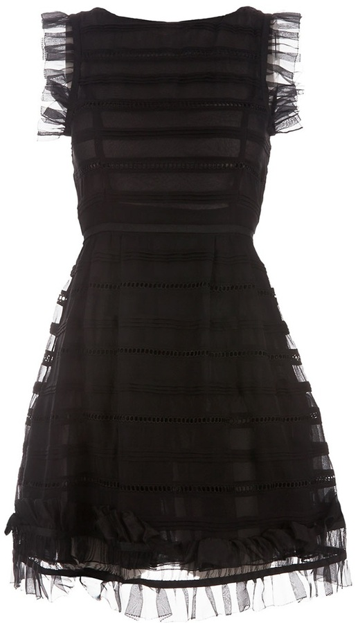 Red Valentino A-line dress