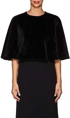 The Row Women's Marcy Mink Fur Cape - Black