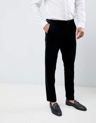 Jack and Jones Slim Fit Velvet Suit Pant