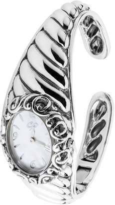 Mother of Pearl Carolyn Pollack Sterling Silver & White Mother-of-Pearl Watch