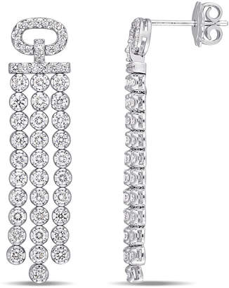 Diamond Select Cuts 18K 2.20 Ct. Tw. Diamond Linear Drop Earrings