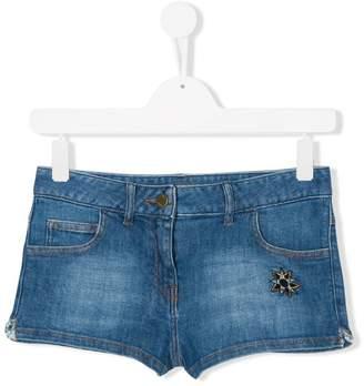 Zadig & Voltaire Kids TEEN denim shorts
