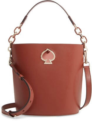 Kate Spade Suzy Small Leather Bucket Bag