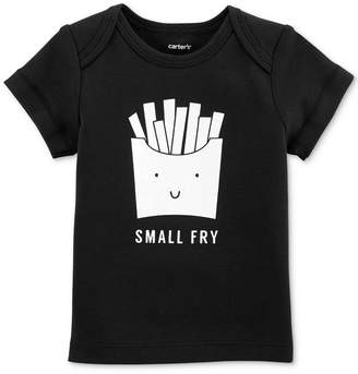 Carter's Baby Boys Fry-Print Cotton T-Shirt