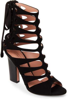 Samuele Failli Laser-Cut Lace-Up Sandals