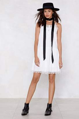 Nasty Gal Couldn't Care Lace Cami Dress