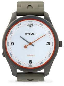 KYBOE Evolve Series Atomic Stainless Steel Strap Watch