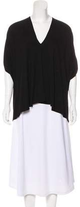 Zero Maria Cornejo Short Sleeve Knit Top