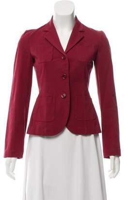 Prada Long Sleeve Blazer