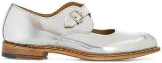 Tricker's Trickers metallic buckle brogues