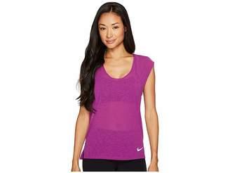 Nike Breathe Cool Short Sleeve Running Top Women's Clothing