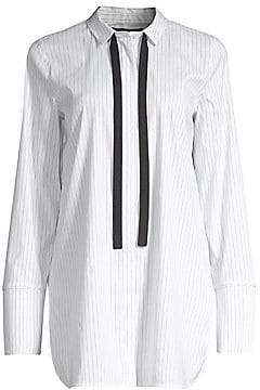 Lafayette 148 New York Women's Annaliese Striped Blouse