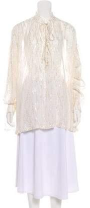 IRO Silk Long Sleeve top