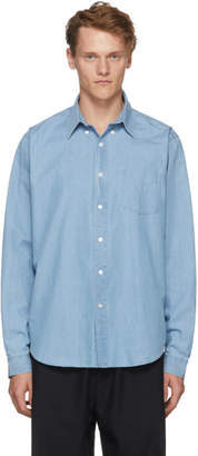 Hope Blue Vintage Button Shirt