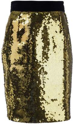 55882e5c5 Moschino Pre-Owned sequin pencil skirt