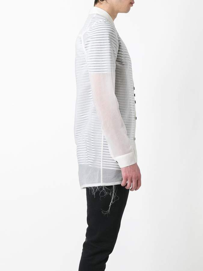 Damir Doma raw edge shirt