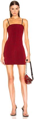 Alexander Wang Sleeveless Mini Dress in Red | FWRD