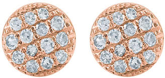 Rosegold The Alkemistry Lauren Joy mini 14ct rose-gold and diamond earrings, Rose gold