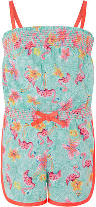 Monsoon Skye Flamingo Playsuit