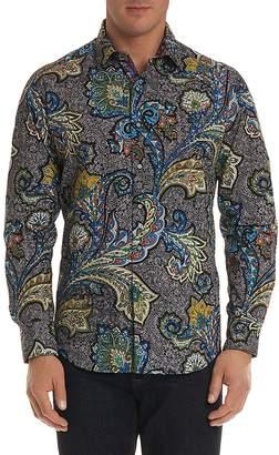 Robert Graham Sea Dragon Regular Fit Button-Down Shirt